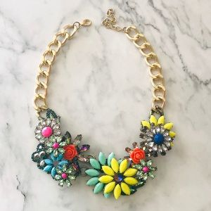 Neon Zara Necklace Fashion Statement Necklace